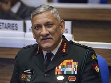 Theatre commands for China, Pak: Chief of Defence Staff Gen Bipin Rawat