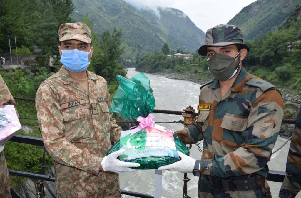 India, Pakistan armies exchange sweets on LoC on Eid-ul-Zuha