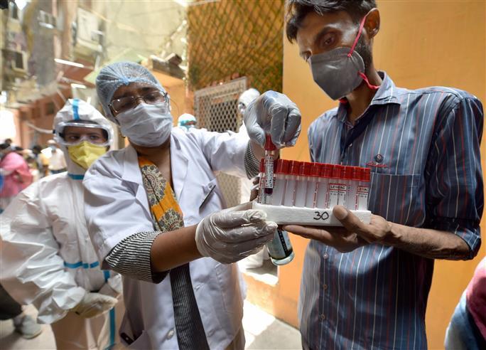 Delhi records 58 new Covid-19 cases, one death
