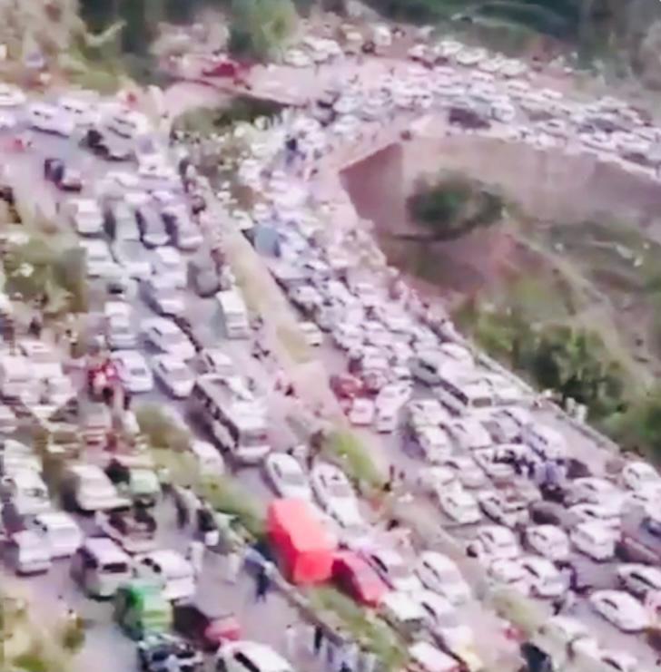 Himachal govt warns against 23-second viral 'fake' video of tourists returning home after Kinnaur landslide