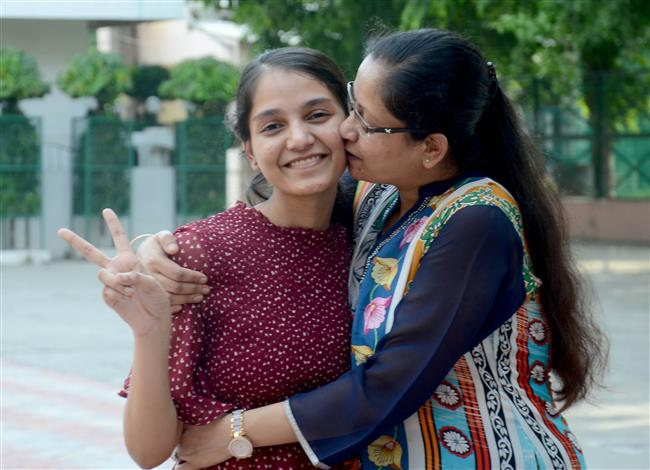 CBSE Class XII results: Vanshika Aggarwal tops in dist, scores 99.8%