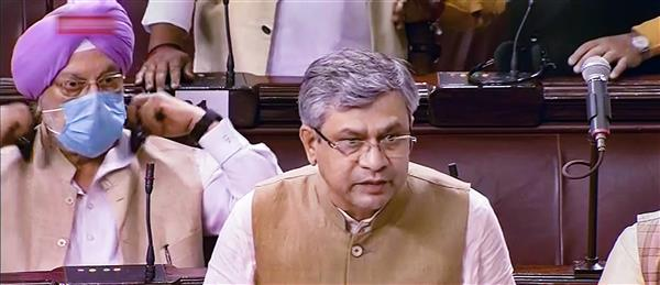 TMC MP snatches Pegasus statement from IT minister, tears it in Rajya Sabha