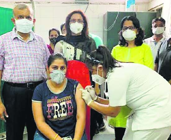 10K get jabbed in Patiala, another mega vaccination drive today