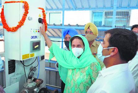 Patiala's Rajindra Hospital gets second oxygen plant