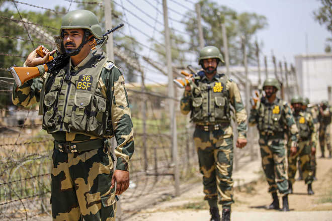 BSF personnel open fire at flying object spotted near border in Jammu