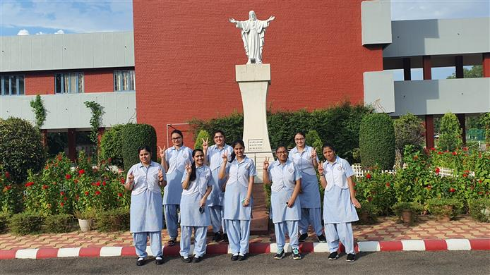 100 per cent result for Sacred Heart Chandigarh