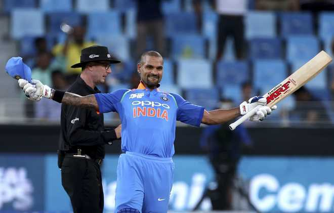 Dhawan moves up two places to 16th, Kohli remains second in ICC ODI rankings