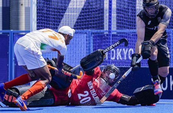 Harmanpreet's brace, Sreejesh's heroics help India beat New Zealand 3-2 in Olympic opener