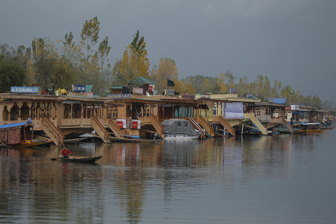 Srinagar city gets its 1st bus boat to revive water transport