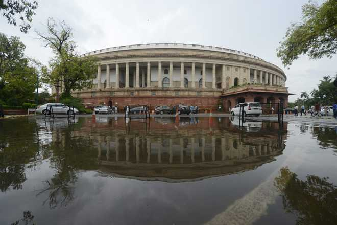 Essential Defence Services Bill, 2021 introduced in LS amid din, Oppn objects