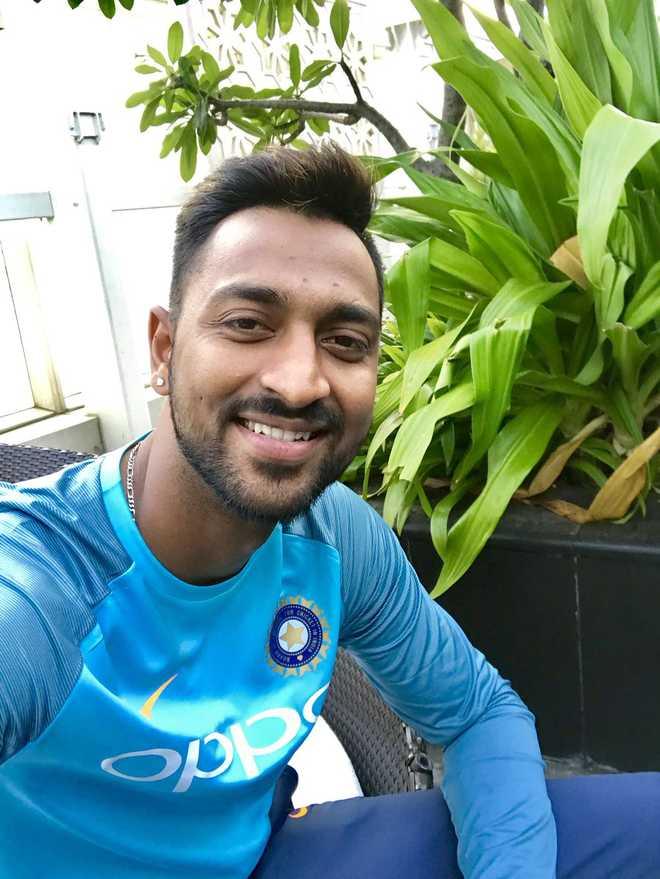 Social media praises Dravid for Krunal Pandya showing sportsmanship during India-Sri Lanka ODI
