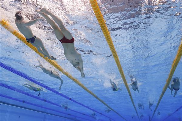 Swimming gives your brain a boost – but scientists don't know yet why it's better than other aerobic activities