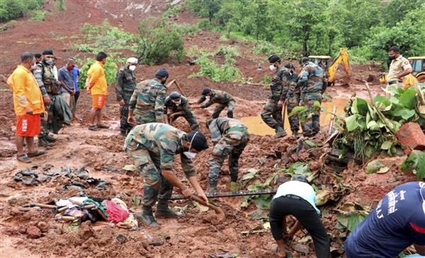 Maharashtra: Death toll in landslides and floods rises to 149 as more bodies recovered, 64 missing