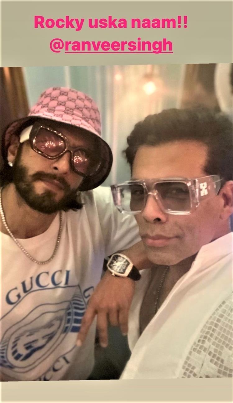 Ranveer Singh will be seen in Karan Johar-directed Rocky Aur Rani Ki Prem Kahani