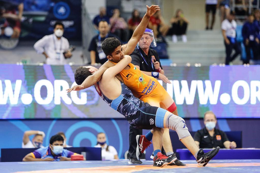 Punjab lad shines at world cadet wrestling championship