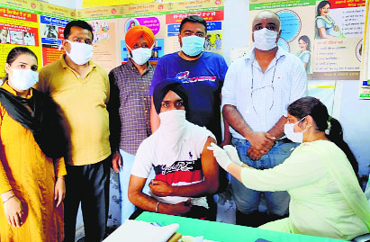 Mega vaccination drive in Patiala as dept receives 11,000 doses