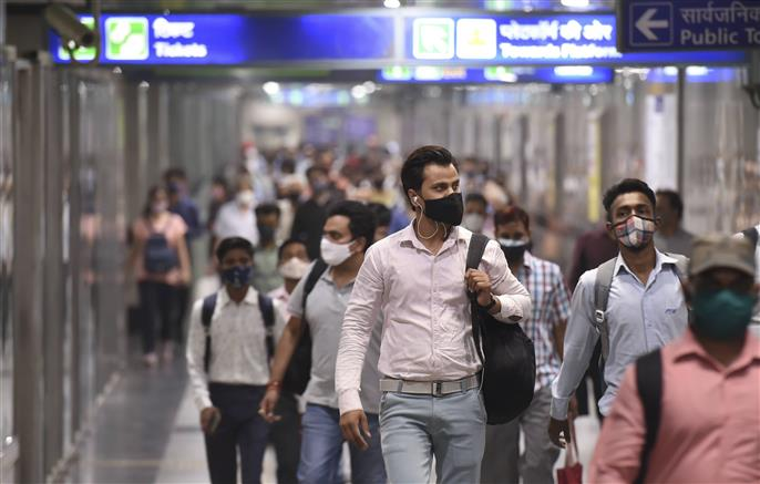 Delhi Metro start running with 100 pc seating capacity; standing not allowed in coaches
