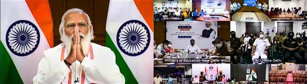 New NEP major factor in 'mahayagna' of nation building: PM Modi