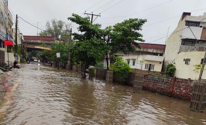 Incessant rain leaves Patiala waterlogged, inconveniences residents, commuters