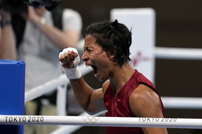 Lovlina Borgohain assures India of first boxing medal at Tokyo Olympics