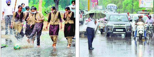 Rain brings relief in Patiala as temp falls a few notches