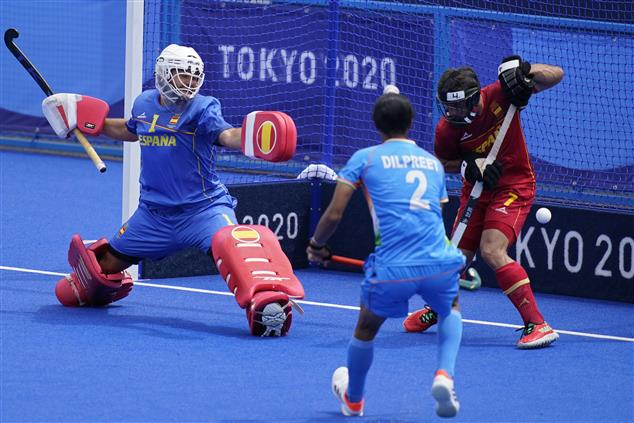 Rupinder's brace hands India 3-0 win over Spain in Olympic men's hockey