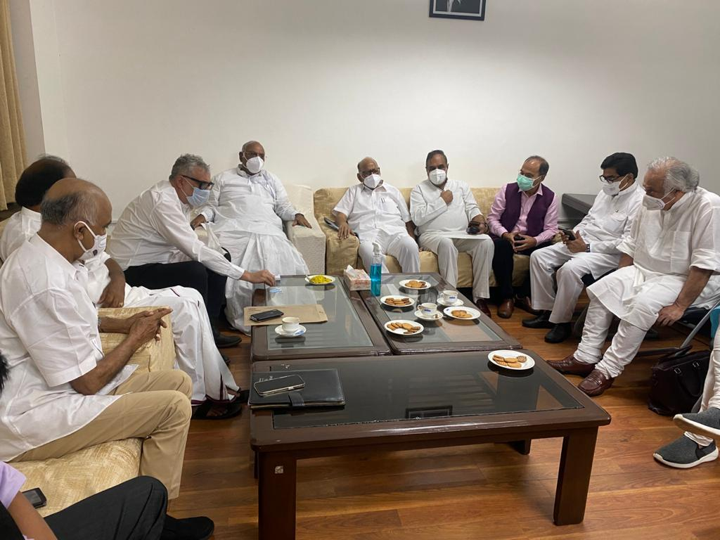 Pegasus: Congress leads Opposition strategy, Kharge, top leaders move  adjournment notices in Rajya Sabha : The Tribune India