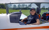 Flying solo, 19-year-old woman aims to set aviation record