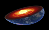 Earth's inner core is growing more on one side than the other – here's why the planet isn't tipping