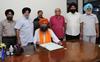 Members protest as Pritam Singh Narangpuri declares self as NRI Sabha (Punjab) chief