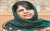 Mehbooba Mufti: Talks with Pak must to end bloodshed in J&K