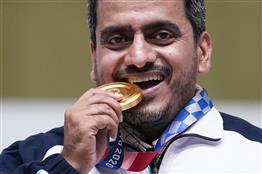 Soldier of his country: Iran's Olympic champion shooter is hospital nurse too, served in Covid wards