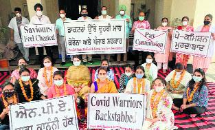 Restoration of NPA: Medical, dental teachers start indefinite protest in Patiala
