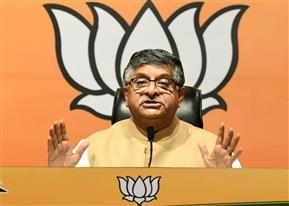 Not a shred of evidence linking Modi govt or BJP to Pegasus story, says Prasad; Cong demands sacking of Amit Shah
