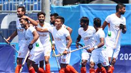 India beat Argentina 3-1 to seal quarterfinal berth in Olympic men's hockey