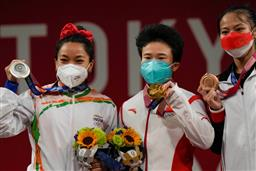 Mirabai Chanu says winning medal at Olympics is a dream come true; dedicates it to her country
