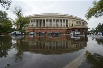 Rajya Sabha adjourned for the day amidst ruckus by Opposition leaders