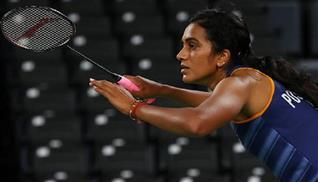 PV Sindhu enters badminton quarterfinals at Tokyo Olympics