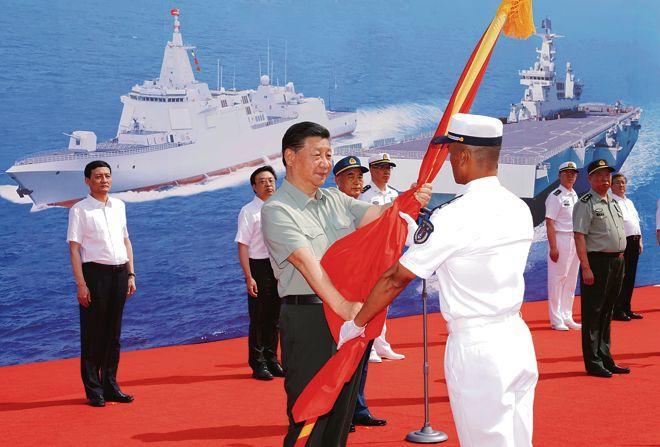 China eyes dominance on land and sea