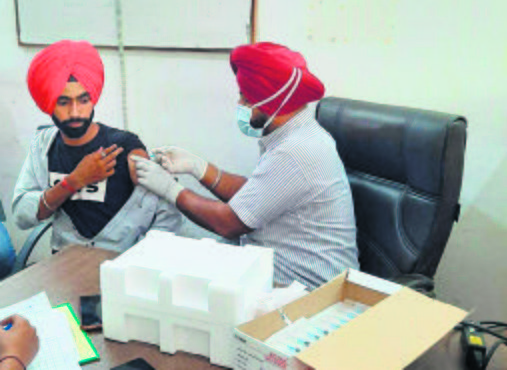 In Patiala district, just 7.3% of target population fully vaccinated