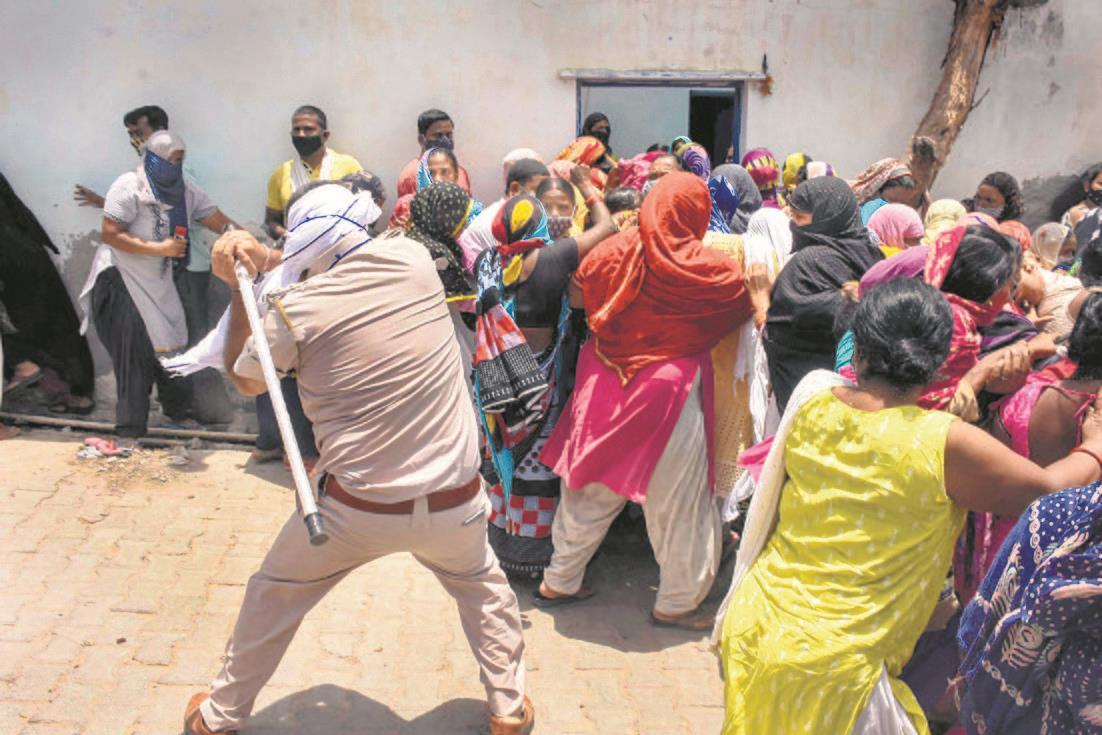 Aravalli forest land: Protesting Khori residents lathicharged