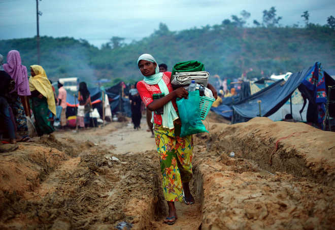 Rohingya migrants pose threat to security: Centre