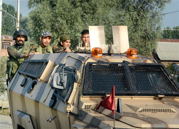 Two LeT terrorists neutralised in Srinagar