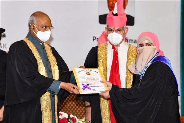 Violence not part of Kashmiriyat: President Ram Nath Kovind