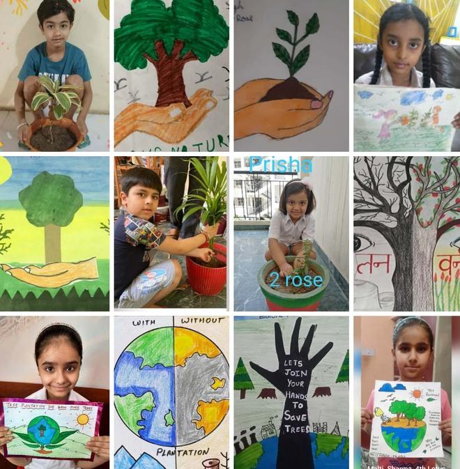 Delhi Public School, Ambala, organises programme for spreading awareness on nature
