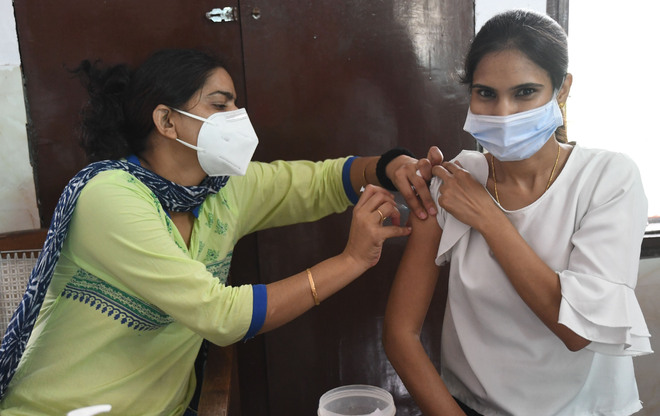One-third of 18+ population in Panchkula fully vaccinated