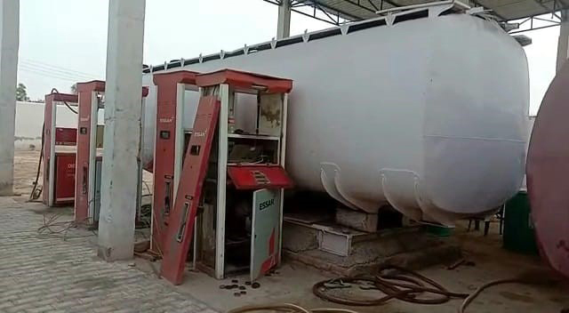 13K litre combustible material seized
