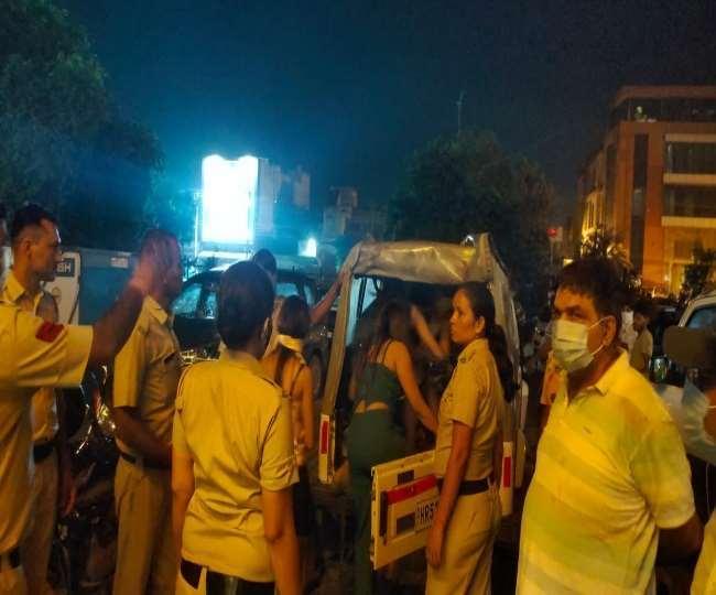 44 nabbed for flesh trade, illegal liquor party in Faridabad