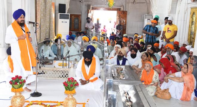 Miri Piri Diwas of Patshahi Chhevin celebrated in Amritsar