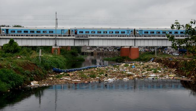 Waste dumped on Ludhiana's Buddha Nullah banks irks residents